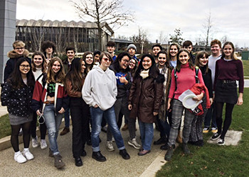Biology and Chemistry students travelled to the European Molecular Biology Laboratory near Cambridge