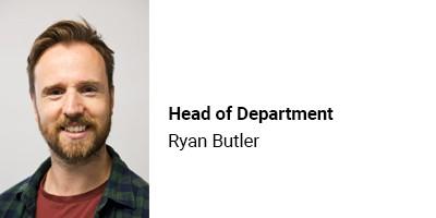 Head of Department Ryan Butler