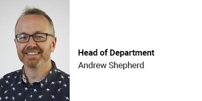 Head of Department Andrew Shepherd