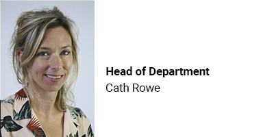 Head of Department Cath Rowe