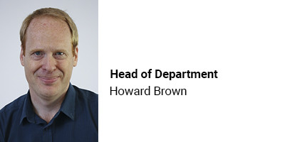 Head of Department Howard Brown
