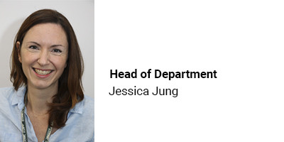 Head of Department Jessica Jung