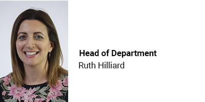Head of Department Ruth Hilliard