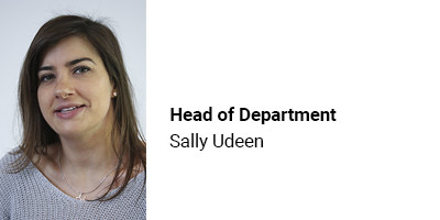 Head of Department Sally Udeen