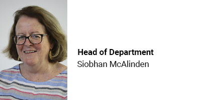 Head of Department Siobhan McAlinden