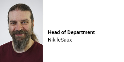 Head of Department Nik LeSaux